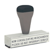 """T02 - T02 Traditional Quick Dry Message Stamp 3/8"""" x 2-13/16"""""""
