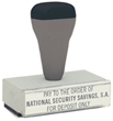 """T04 - T04 Traditional Quick Dry Message Stamp 7/8"""" x 3-13/16"""""""